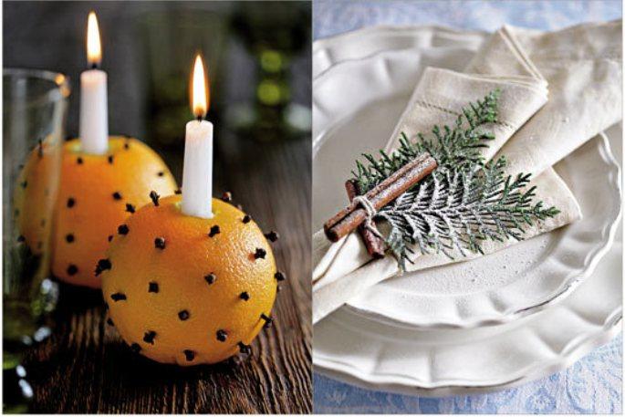 Как украсить свечку к новому году своими руками