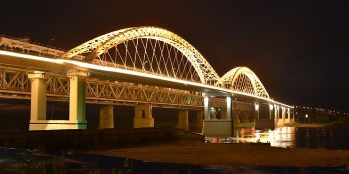 Нижний новгород мосты через волгу