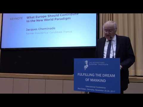 Жак Шеминад: Европа и новая парадигма мира