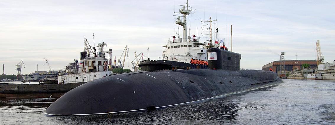 атомная подводная лодка севмаш