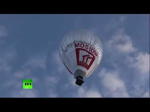 Фёдор Конюхов отправился в кругосветное путешествие на воздушном шаре