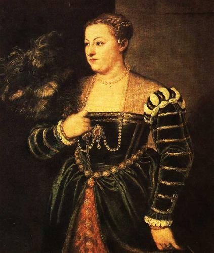 Портрет дочери Лавинии Тициан