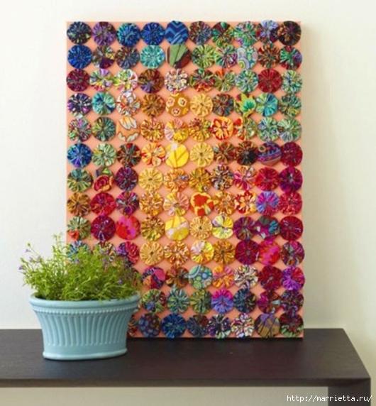 цветочки йо-йо для шторки (61) (530x572, 221Kb)