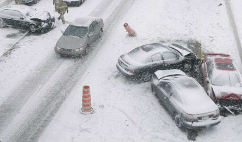 Как безопасно ездить зимой