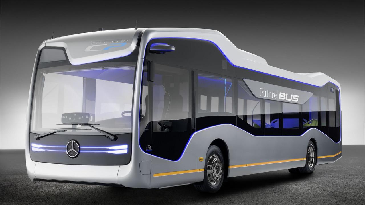 Mercedes сделал беспилотный автобус будущего