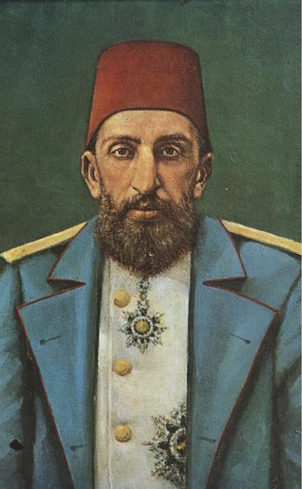 Султан Египта Абдул Хамид II.