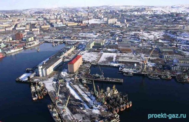 Мурманск станет опорной базой для шельфовой разведки «Газпрома»