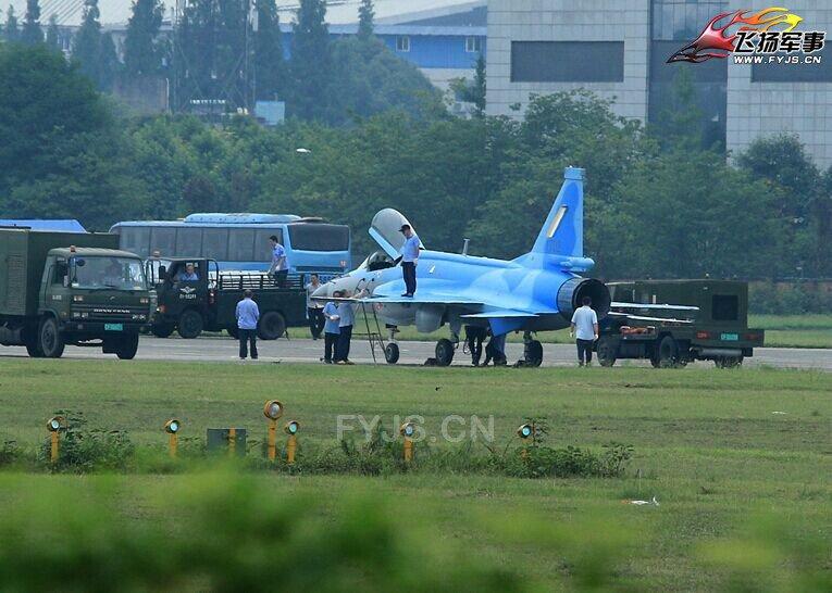 Первый истребитель FC-1 (JF-17) для ВВС Мьянмы