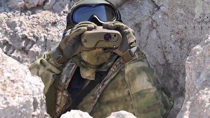 Бойцы Сил Специальных Операций ВС РФ
