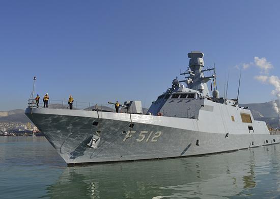 «Адмирал Григорович» направился к берегам Сирии