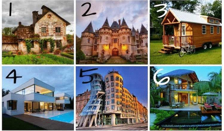 Забавный тест: выберите дом, и узнайте о себе кое-что важное