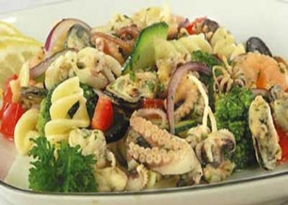 Как приготовить морской коктейль рецепт салатов с