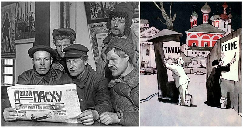 Как праздновали Пасху в СССР