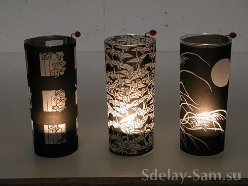 Делаем декоративный светильник и абажур своими руками