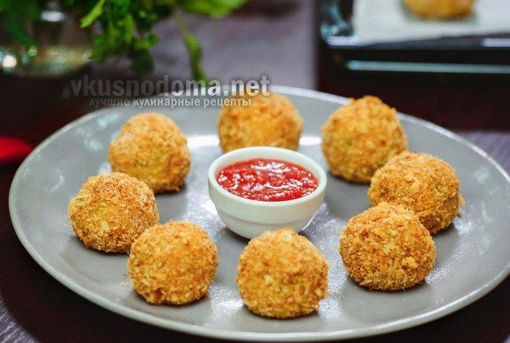 Самые вкусные картофельные шарики с сыром