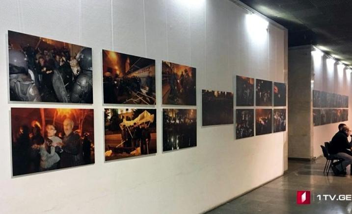 В цирке только клоуны. В Киеве открылась фотовыставка о преступлениях Саакашвили в Грузии