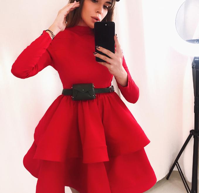 Энергия красного! 23 обворожительных стильных образа в красном цвете