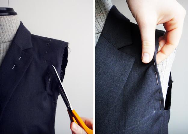 Подплечники для мужского пиджака своими руками 83