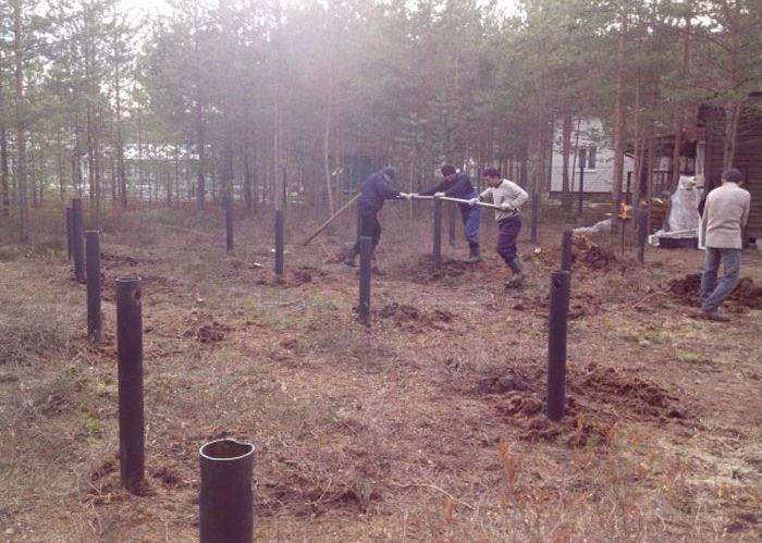 Отчет о строительстве загородного деревянного дома
