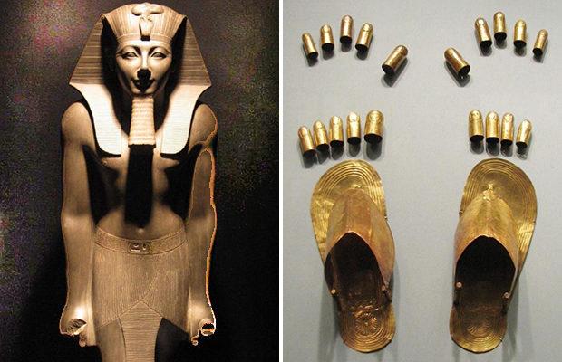 Золотые напальчники для рук и ног