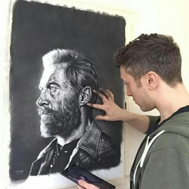 Когда достали халявщики Портреты людей, Художник, Смешное, Длиннопост