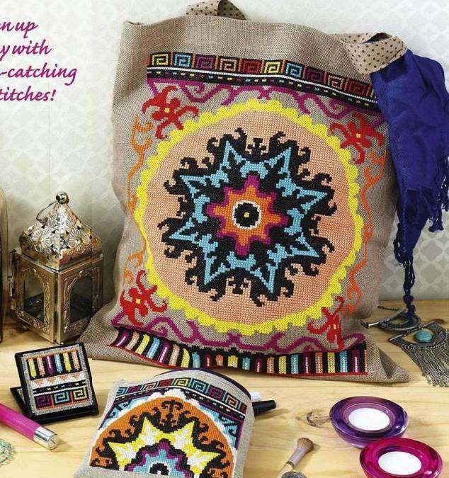 Сумка в этническом стиле с вышивкой