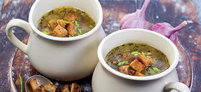 Пражский чесночный суп, или Просто чеснечка