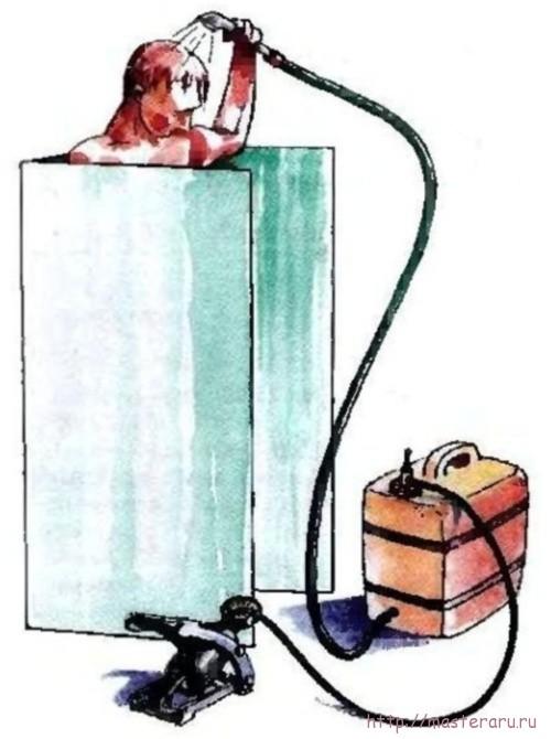 Переносной душ для своими руками 84