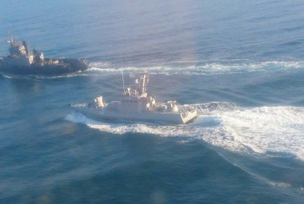 Экс-командующий ВМС Украины: Во время столкновений в Азовском море поврежден катер ФСБ РФ
