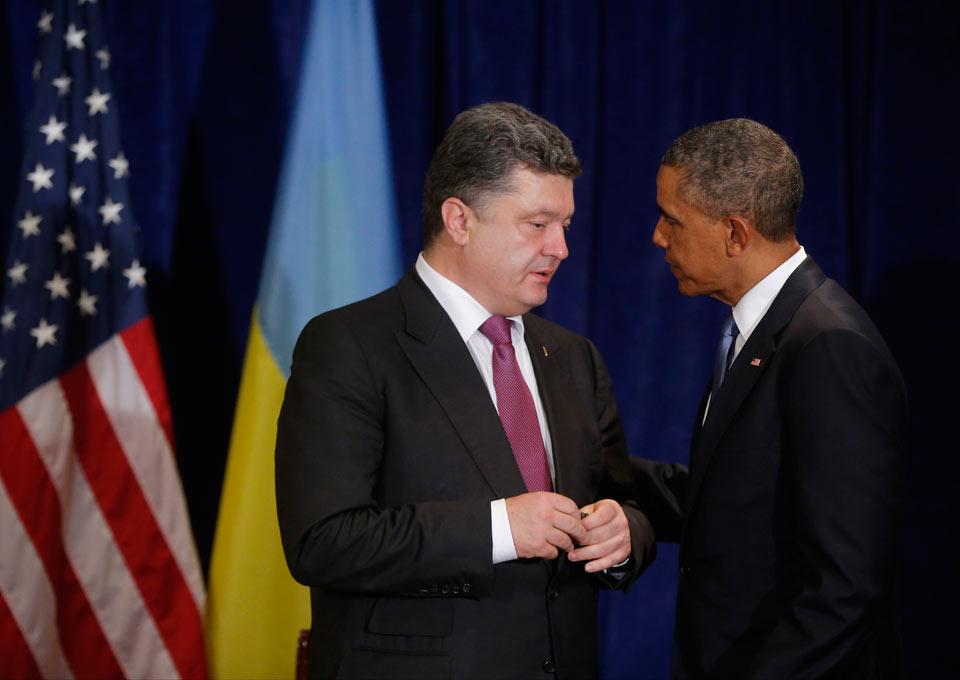 Соединенные Штаты начинают резко дистанцироваться от Порошенко