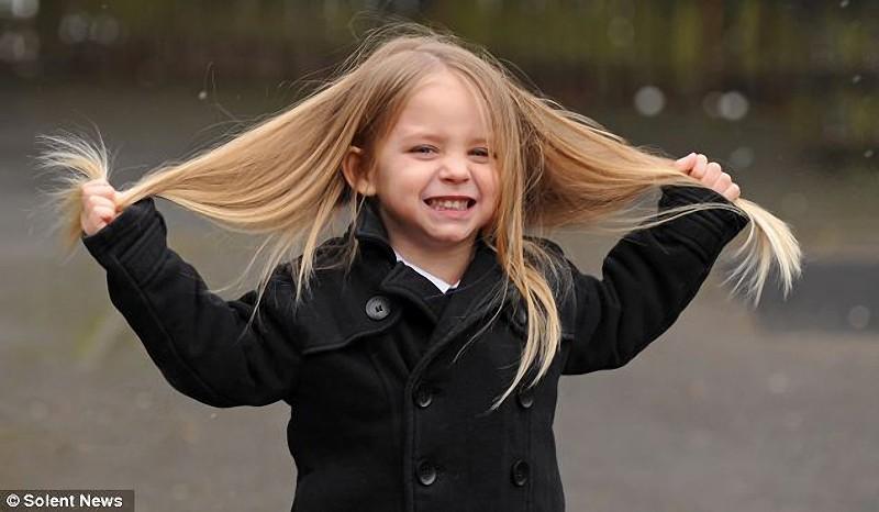 """Про рост и """"нерост"""" волос у детей"""