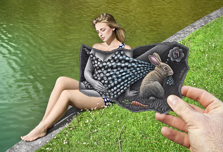 Фотокамера и карандаш - уникальное видение мира художника Бена Гейне