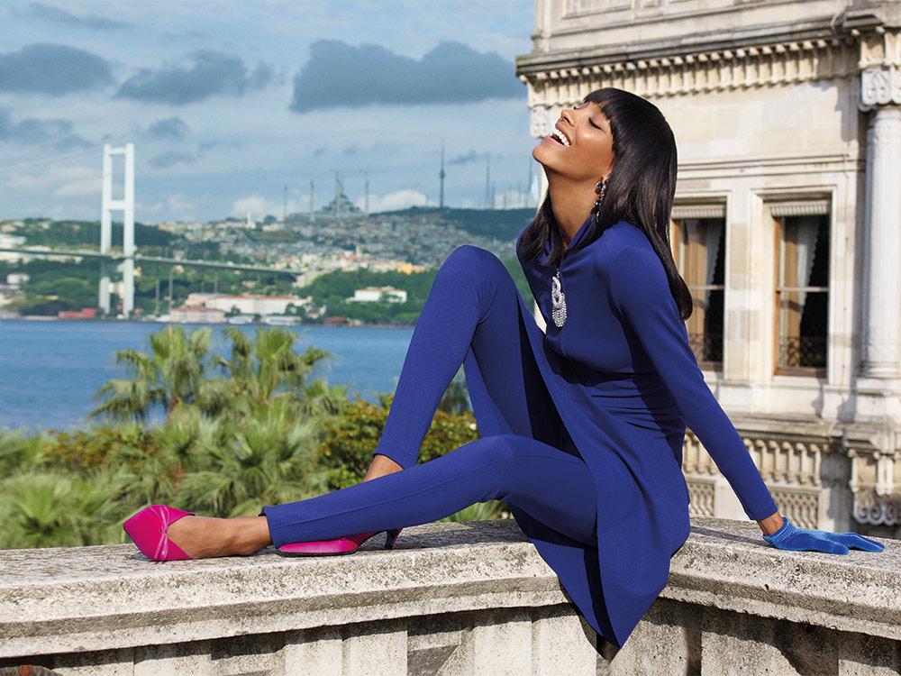 Jourdan Dunn для журнала Vogue Arabia
