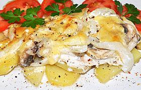 Как пожарить картошку на сковороде с золотистой корочкой пошагово с