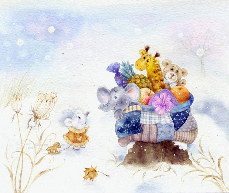 ХУДОЖНИК-ИЛЛЮСТРАТОР ЭЛИНА РЕПКИНА (МОИСЕЕНКО).