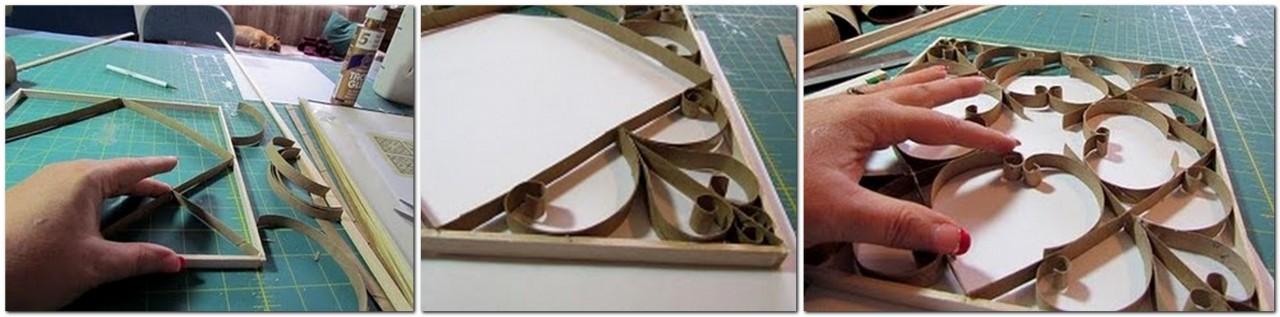 Рамки из картона ковка