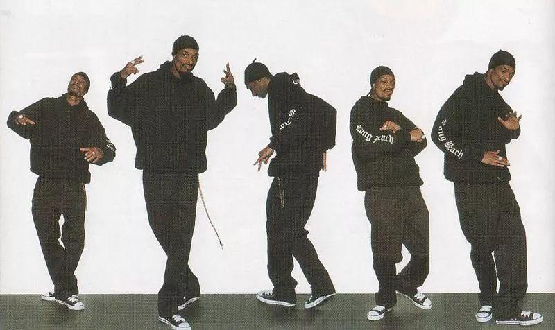 Уличный танец. Crip-Walk