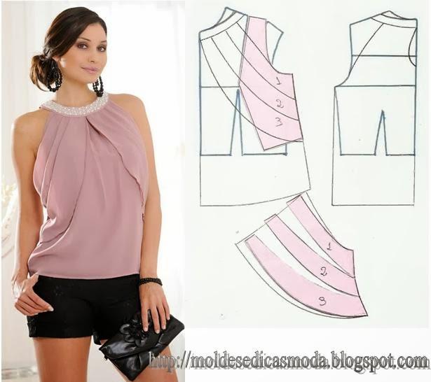 Как самой моделировать блузки