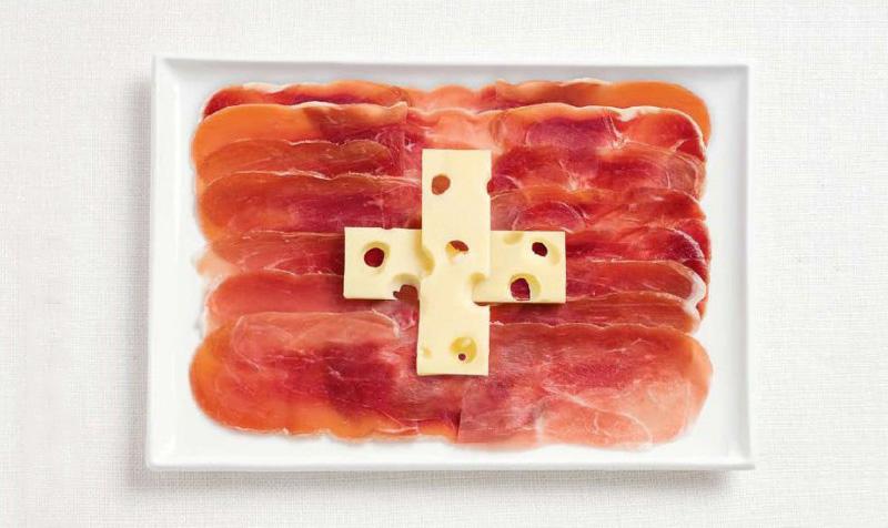 switzerland 700x476 Вкусные флаги мира