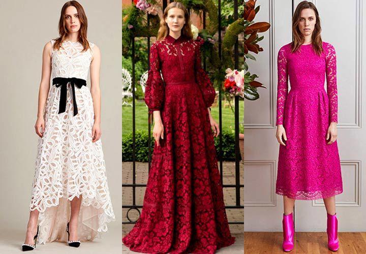 Модные платья весна-лето 2018 года