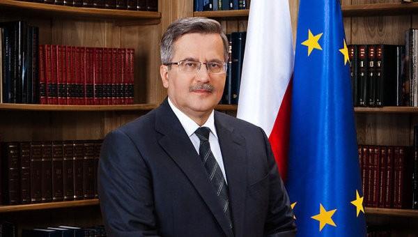 Президент Польши озабочен ситуацией вокруг безопасности на Украине