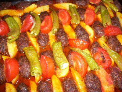 Турецкое блюдо — Фырын кефте