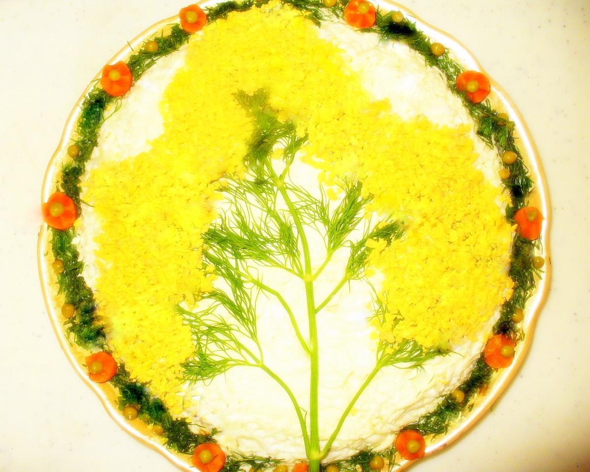 """Салат """"Мимоза """".Фото - Рецепт Olga Dell"""