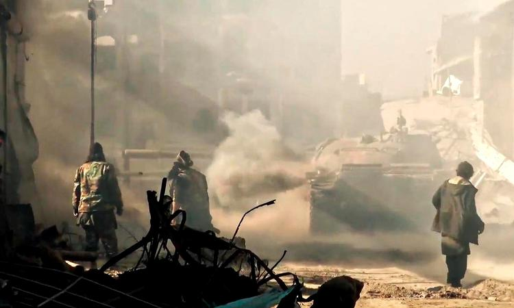 Жертвами удара коалиции в Сирии стали сотни человек