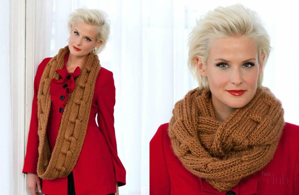Шарф – это скучно? НЕТ! 6 модных способов носить шарф этой зимой