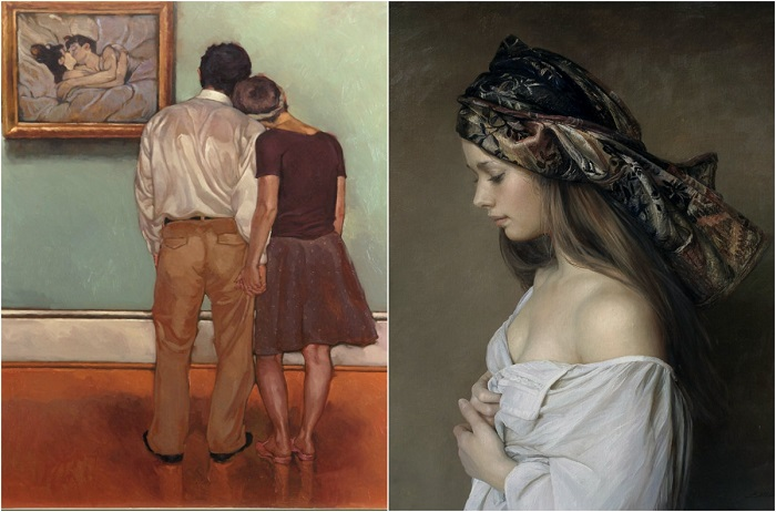 Картина маслом: 22 яркие и колоритные картины, созданные талантливыми современными художниками