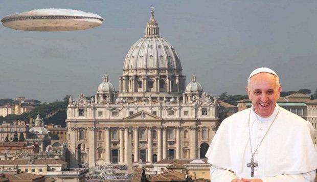 Ватикан готовит Раскрытие информации об инопланетянах