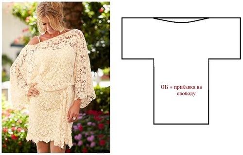 Эффектные блузоны и платья из одного полотна. Простые выкройки!