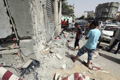 LIBIA VIOLENCIA - Mueren tre…
