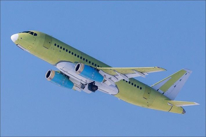 Очередной Сухой Суперджет 100 совершил первый полет